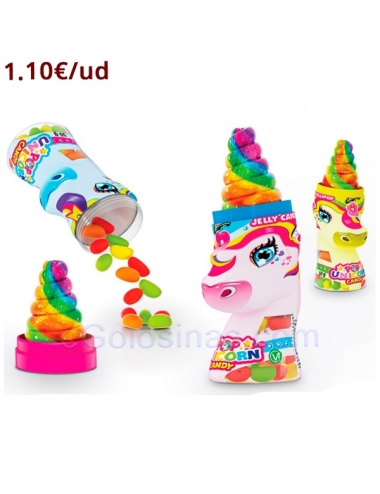 EXPOSITOR UNICORNIO POP CANDY 18uds