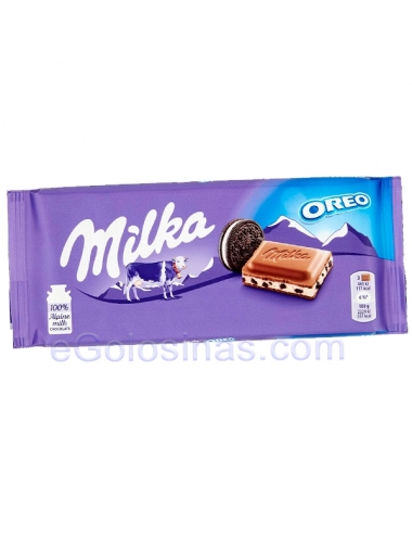 TABLETA CHOCOLATE MILKA OREO 100gr