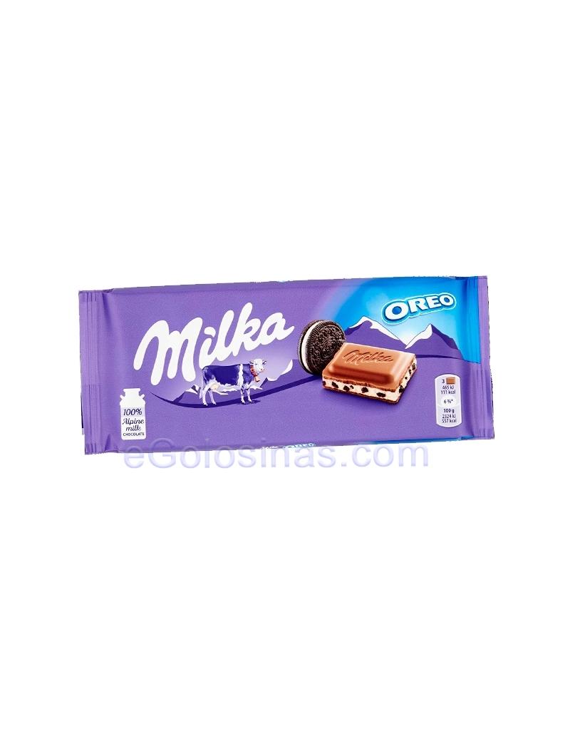 TABLETA CHOCOLATE MILKA OREO 100gr