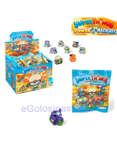 MINI SUPERTHINGS ONE PACK MACHINES 50 sobres
