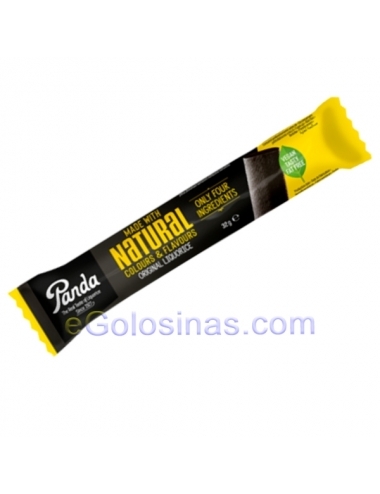 REGALIZ PANDA ALL NATURAL 36uds 32gr