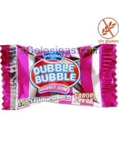 DUBBLE BUBBLE sabor FRESA 150uds.