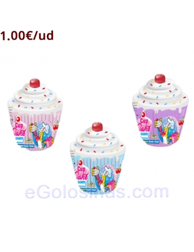 CUP CAKE CANDY CARAMELO + PICA PICA 40gr 12uds