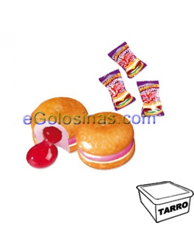 BURGER CHICLE 200uds FINI