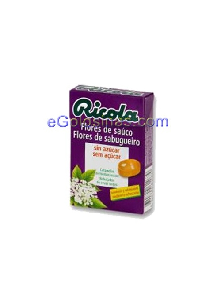 RICOLA CARAMELO FLOR SAUCO 10uds