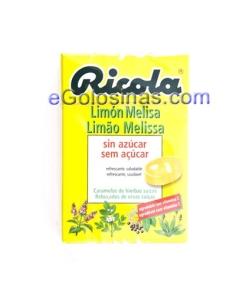 RICOLA CARAMELO LIMON Y MELISA 10uds