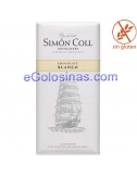 CHOCOLATE BLANCO 85gr de SIMON COLL 10uds