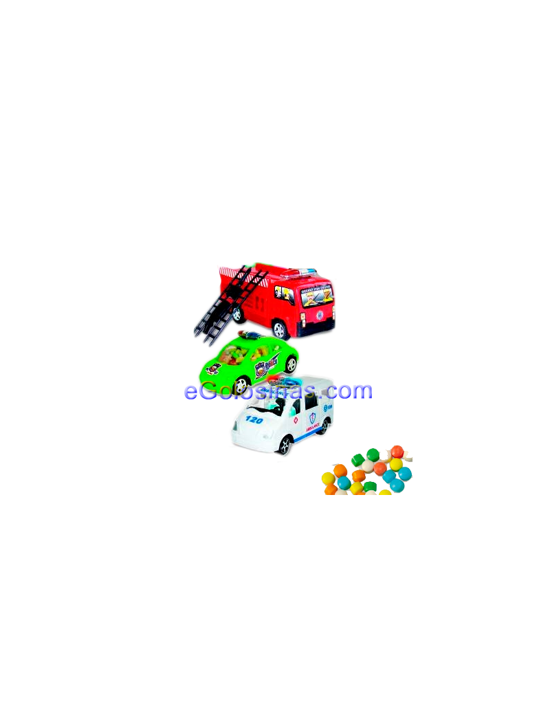 COCHES EMERGENCY SERVICES 12uds FANTASY TOYS