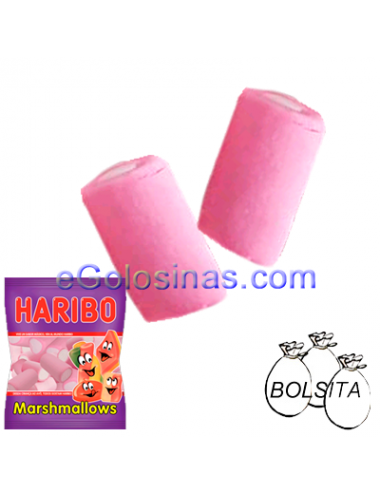 TUBULAR MALLOWS 18 Bolsitas 90gr HARIBO