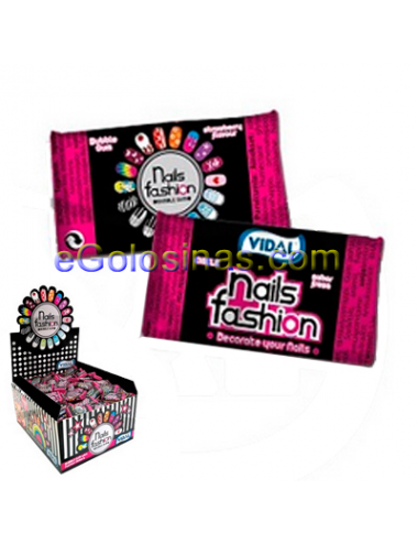 CHICLE NAILS FASHION 200uds VIDAL