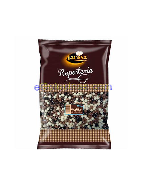 MINI BOLAS CHOCOLATE 1kg LACASA