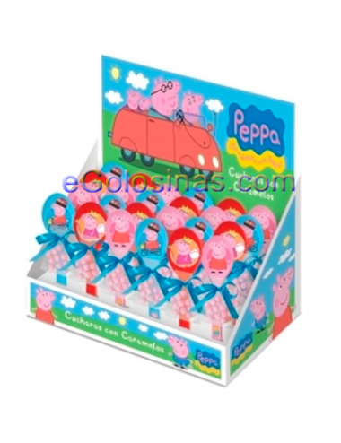 CUCHARAS TOY PEPPA PIG 24uds