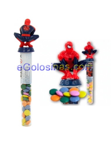 CANDY STICK SPIDERMAN 12uds BIPCANDIES