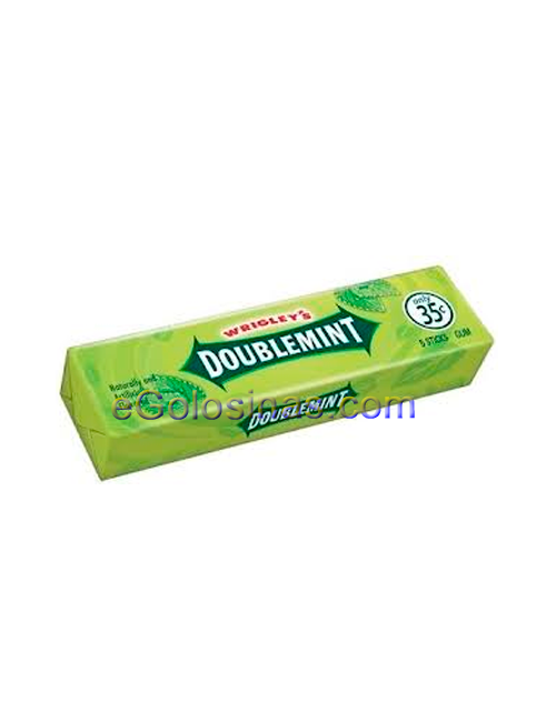 CHICLET DOUBLEMINT 7 LAMINAS 20uds