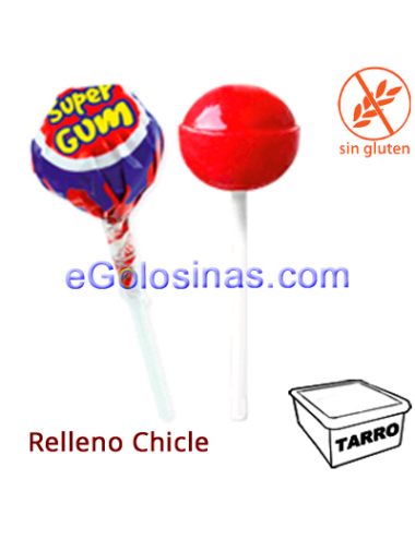 CHUPA SUPERGUM CEREZA 100uds JAKE