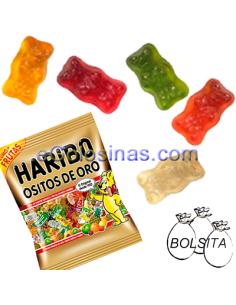OSITOS DE ORO de HARIBO 18 Bolsitas de 100gr