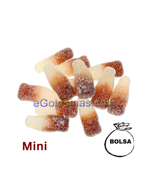 MINI BOTELLA COLA PICA 1kg de HARIBO
