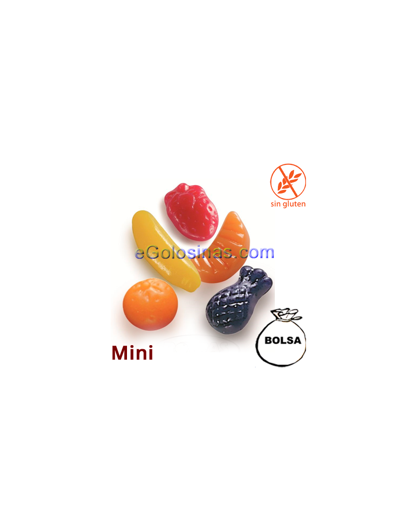 MINI FRUTITAS BRILLO 1Kg de ROYPAS