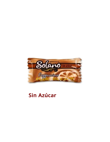 SOLANO sabor CAPUCCINO Sin Azucar 300uds.