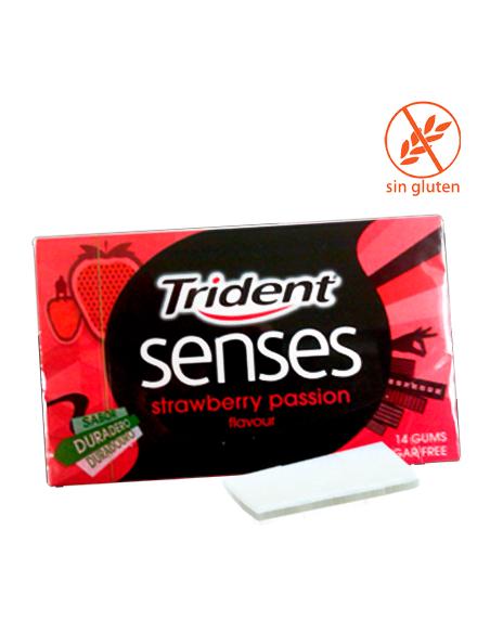 TRIDENT SENSES FRESA 12uds