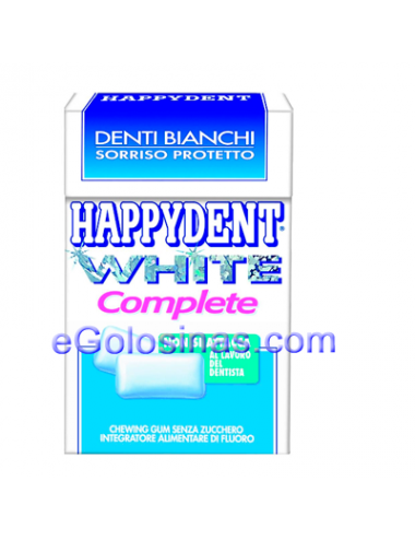 HAPPYDENT WHITE COMPLETE 12uds