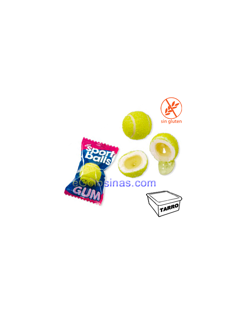 PELOTAS TENIS CHICLE 200uds