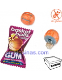 BASKET BALL CHICLE 200uds FINI