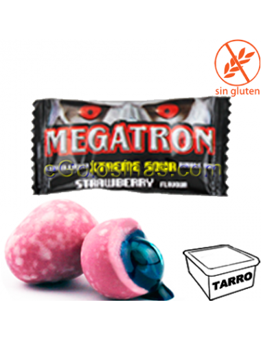 CHICLE MEGATRON FRESA 200uds JAKE