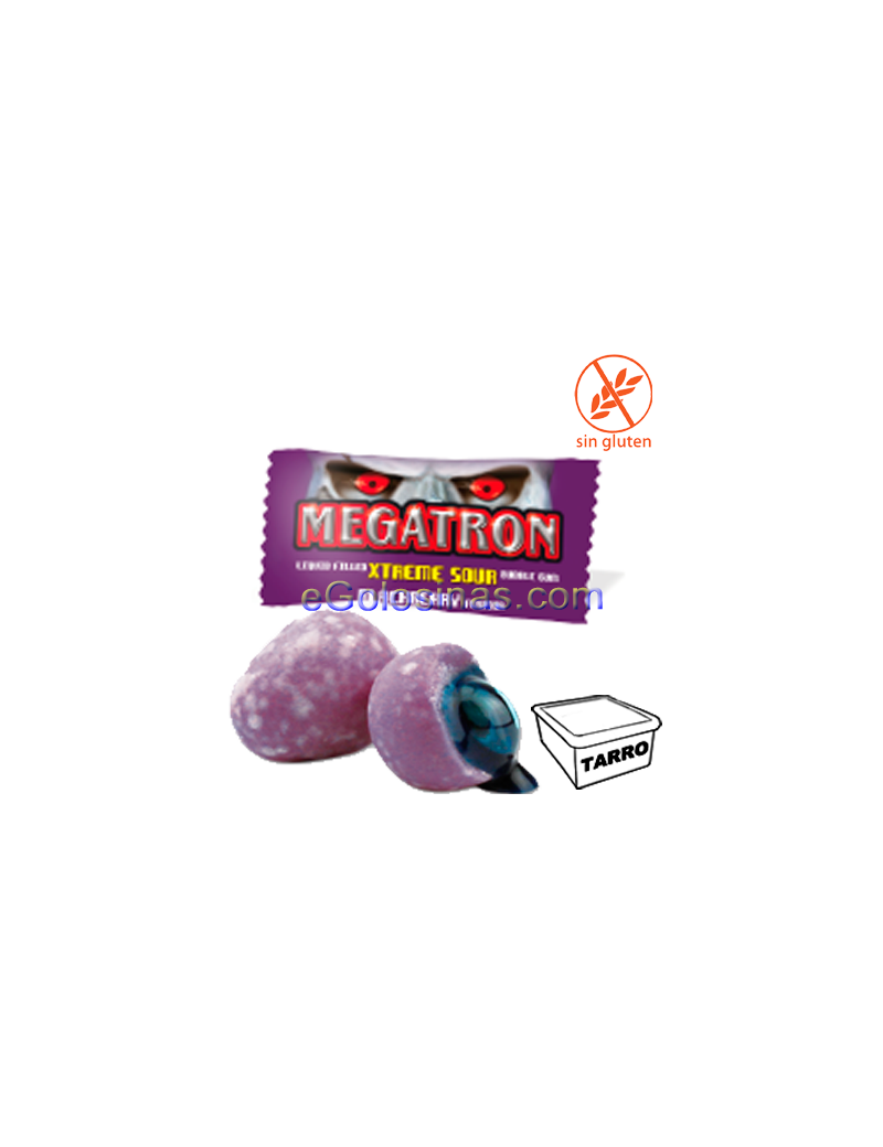 CHICLE MEGATRON MORA 200uds JAKE