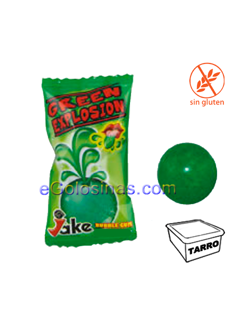 CHICLE GREEN EXPLOSION 200uds JAKE