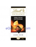 TABLETA EXCELLENCE NEGRO-NARANJA 100gr