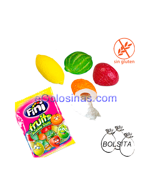Chicle Macedonia 12uds 100gr FINI