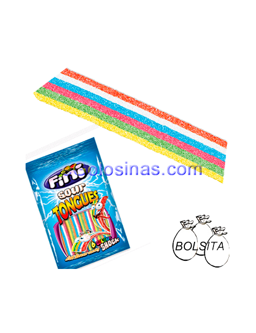 Lenguas Multifruit 12uds 100gr FINI