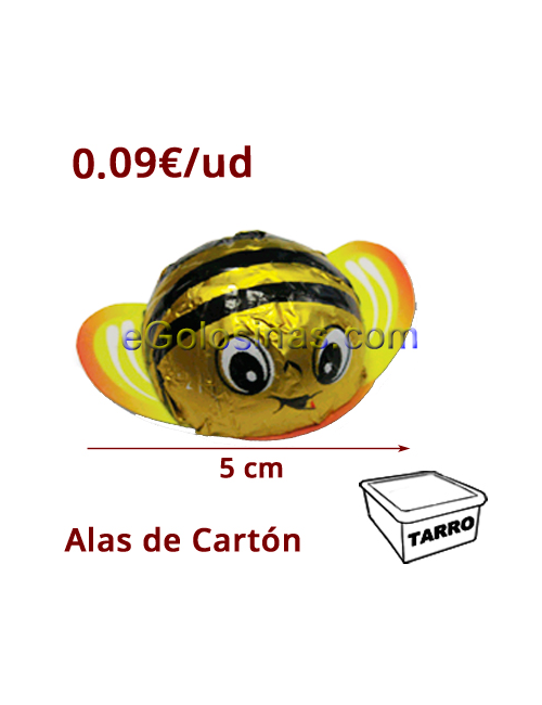 MINI ABEJAS CHOCOLATE 100uds SIDRAL