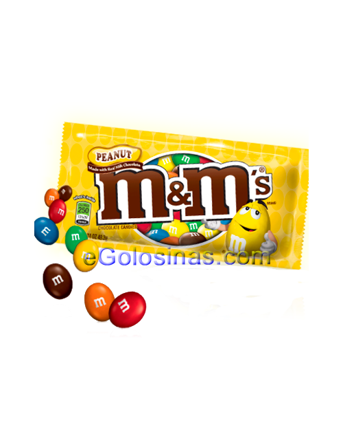 M&Ms Cacahuete 45gr 24UDS
