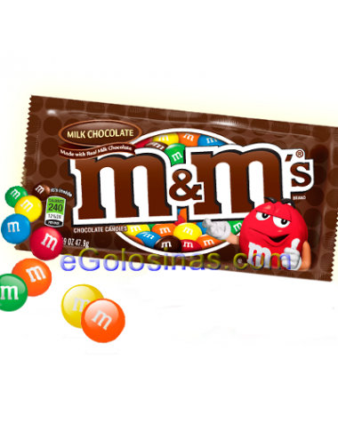 M&M's CHOCOLATE 45gr 24UDS