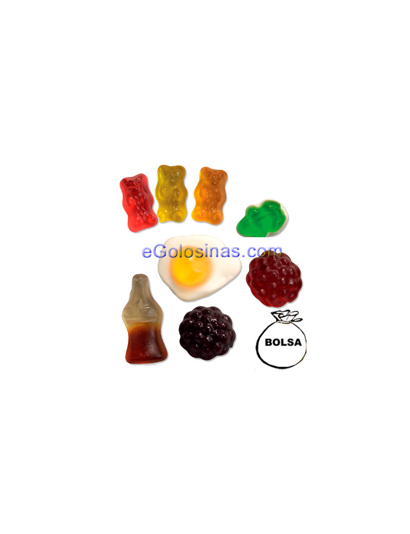 COCKTAIL BRILLO 1kg HARIBO