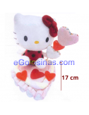 TARTA de CORAZON HELLO KITTY 170gr