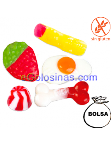 CHUCHES CINEMA MIX BRILLANTE 1kg de FINI GOLOSINAS