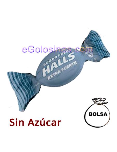 CARAMELO HALLS EXTRAFUERTE Sin Azucar 1Kg