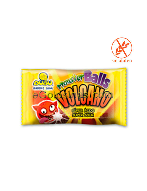 CHICLE VOLCANO DUBU MONSTER 200uds FLEER