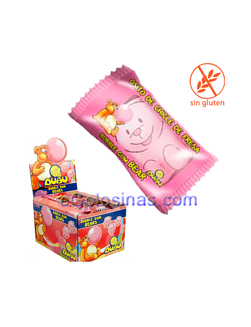 CHICLE DUBU OSITOS 150uds FLEER