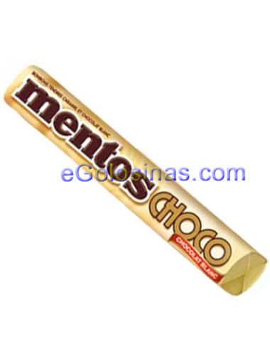 MENTOS CHOCOLATE BLANCO 24uds
