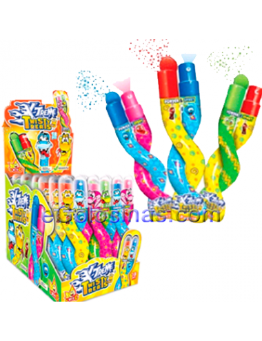 SPRAY TWISTY TREATS SERPIENTE 18uds