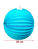 FAROLILLO AZUL 20cm 1ud