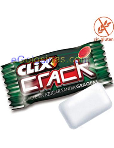 CLIX CRACK SANDIA 200uds. Sin azucar