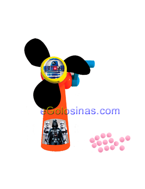 VENTILADOR MANUAL STAR WARS 12uds