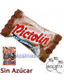 PICTOLIN CHOCOLATE-NATA 12uds 65gr SIN AZUCAR