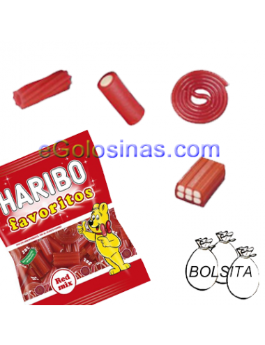 FAVORITOS RED MIX 18 Bolsitas de 90gr HARIBO
