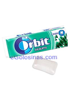 ORBIT GRAGEA EUCALIPTO 30uds Sin Azúcar